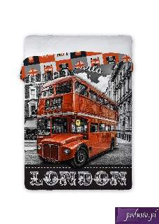 Narzuta bawe�niana 160x200 city 02 london