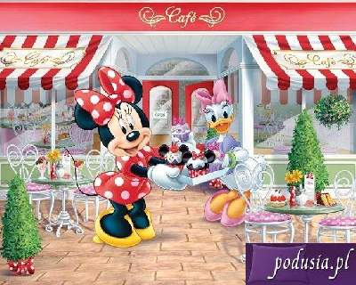 Fototapeta 3D Disney Minnie Mouse